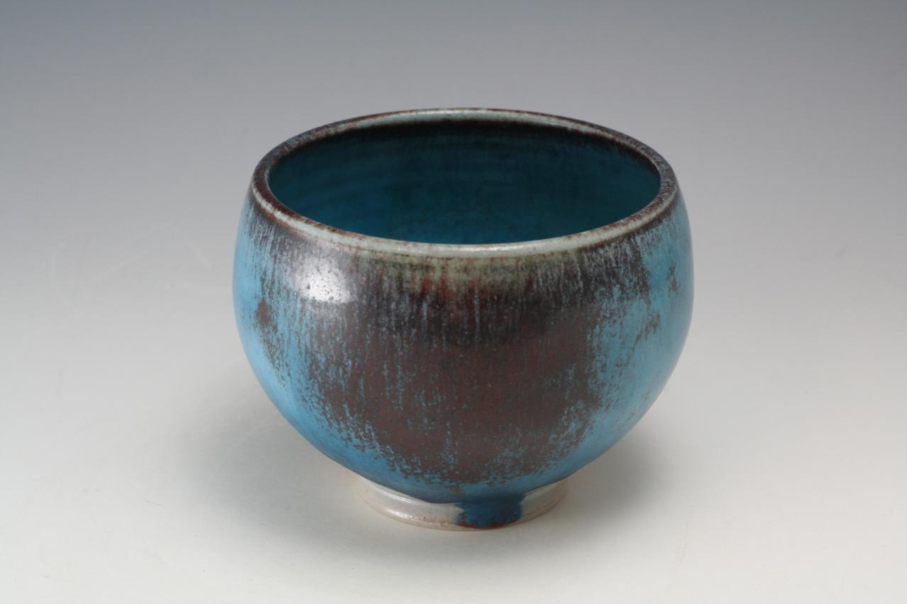 Ben Owen Iii Pottery Seagrove Chinese Blue Bowl Nc Pottery
