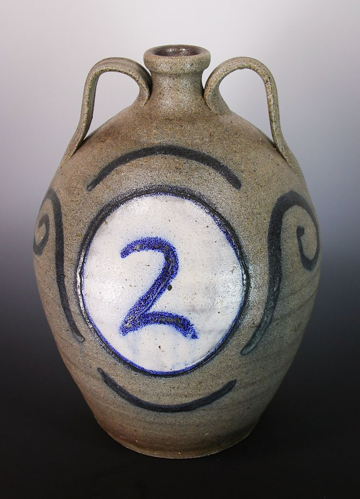 Clint Alderman Salt Glaze 2 G Jug