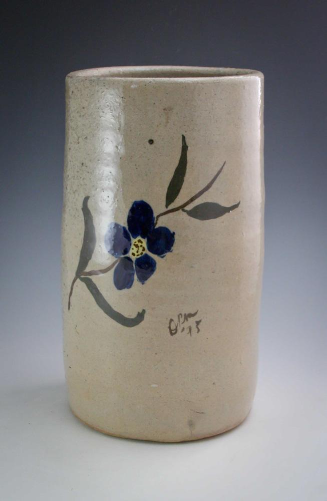 David Meaders Pottery Decorated Vase Georgia GA Southern Folk